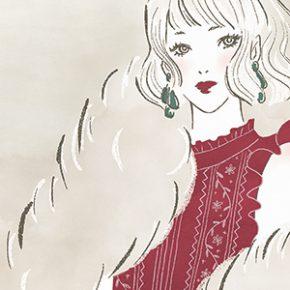 【お知らせ】Amazonで予約受付中。ART BOOK OF SELECTED ILLUSTRATION Girlsにイラストを掲載していただきました。